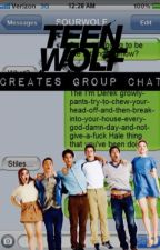 Teen wolf creates group chat by JoeBenson_