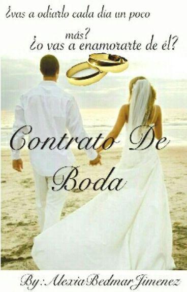 Contrato de Boda