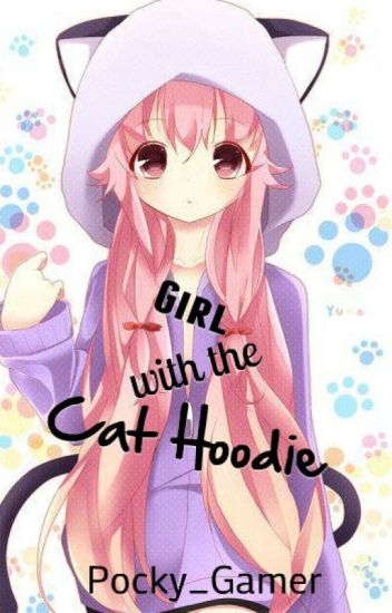 Girl with the Cat Hoodie
