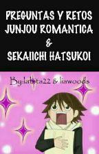 Preguntas y retos Junjou Romantica & Sekaiichi Hatsukoi by labita22