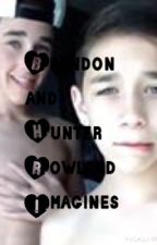 Hunter And Brandon Rowland Imagines by fuckinkuwonu