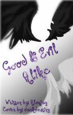 Good and evil alike by Aloujay