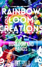 Rainbow Loom Creations by noodsforu