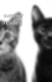 summer reading by 20bn02