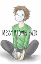 Messy Brown Hair by thecreaturehub_
