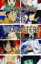 Dare and Ask the KHR Characters! by MissAliceHeru