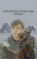 One battle after the other. (Peter pevensie x reader) by Hufflepuff_cr