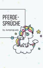 Pferdesprüche by JumpingLady