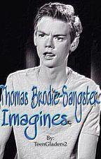 Thomas Brodie-Sangster imagines by TeenGladers2