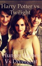 Harry Potter vs Twilight                                                                Hunger Games vs Divergent by DQ4life