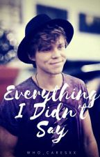 Everything I Didn't Say (Ashton Irwin) by who_caresxx
