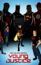 Young Justice,The New Girl by LazyCakez
