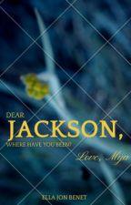 Dear Jackson by ano_malies