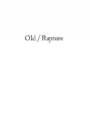 RAPTURE ▹ TVD / TW
