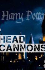 Harry Potter head cannons by sleezyleen