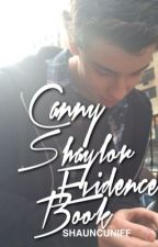 Canny  ☹ SHAYLOR Evidence Book by shauncuniff