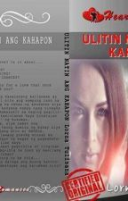 ULITIN NATIN ANG KAHAPON(Book 1: Rancho de Apollo)written by: Lorna Tulisana by HeartRomances