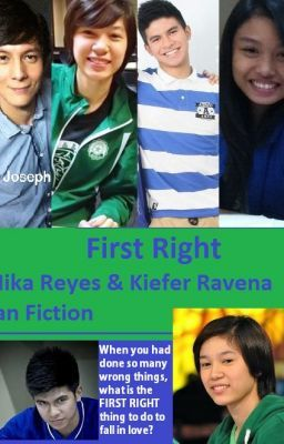 First Right (Mika Reyes and Kiefer Ravena fanfiction)