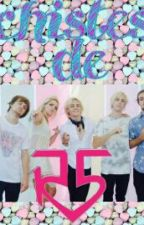 """CHISTES DE R5"" by sherlin_R5"