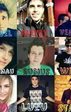biografia de los youtubers by -LaRubiaOMG-