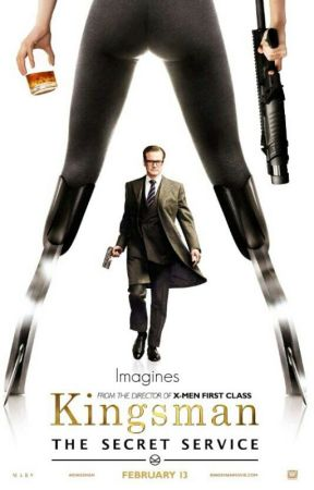 Kingsman: The Secret Sevice imagines by cheeshirekitty