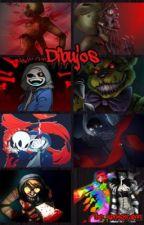 Mis dibujos by The_springtrap99