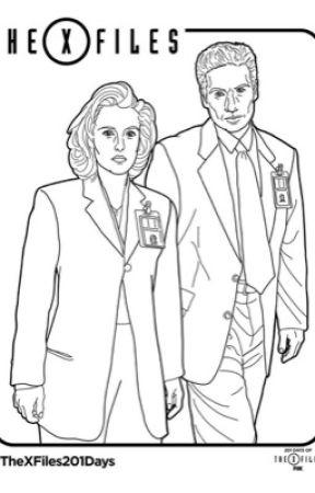 Scully y Mulder. by molirom