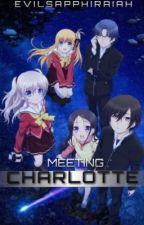 Meeting Charlotte [Charlotte- The 4-Koma: Seinshun o Kakenukero] by Evilsapphiraiah
