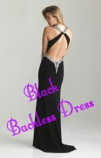 Black Backless Dress by PFid_Esrt