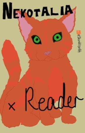 Kitty-cat! Nekotalia (cursed hetalia or cat hetalia) x reader one