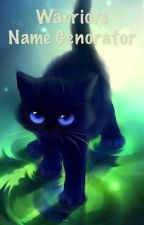 Warrior Cats Name Generator by Gellyfrog