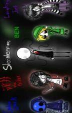 ASK CREEPYPASTAS by creepypastagirl42302