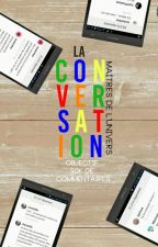 La conversation by -maelim-