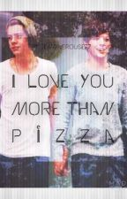 I Love You More Than Pizza||Larry Stylinson au||BoyxBoy by jennacrouse77