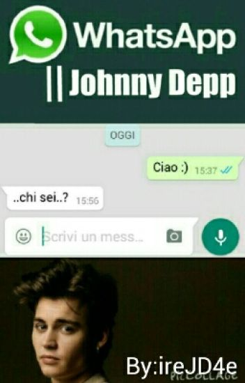 Whatsapp Johnny Depp Black Angel Wattpad