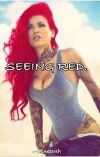 Seeing Red (CM Punk WWE) by mokneecuh