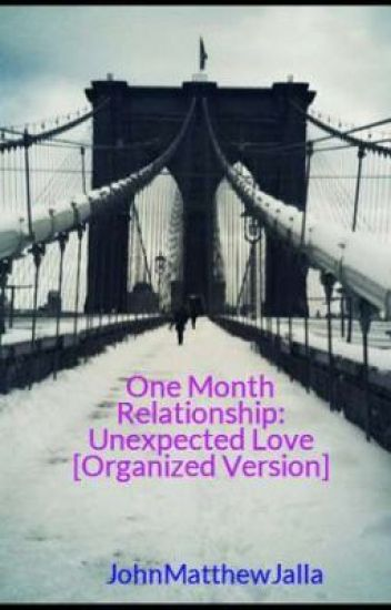 one month relationship