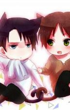 Ask Neko Eren and Levi by PsychopathicAnimeFan