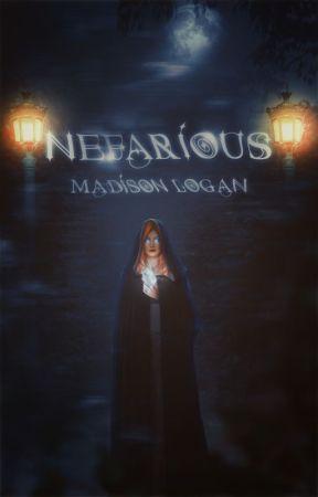 NEFARIOUS  ( DISNEY DESCENDANTS. ) by Madison_Logan