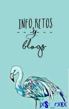 Info, Retos y Blogs  by jxst_rxfx