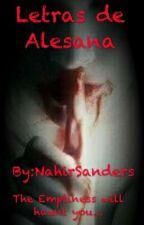 Letras De Alesana by NahirSanders