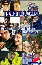 Trainingslager? Eher Klassenfahrt mit Erwachsenen (neue Version)  by rin_chan3211