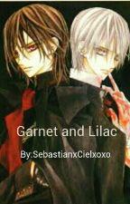 garnet and lilac by SebastianxCielxoxo