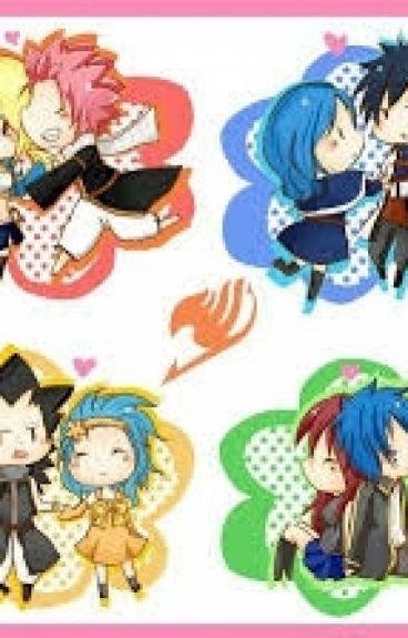 ( Nalu fic) Fairy Tail High School Love