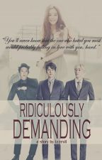 Ridiculously Demanding (Kyuhyun Fanfiction) by izzevil