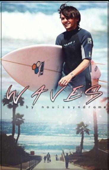 Waves - Larry Stylinson AU