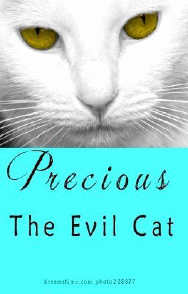 Precious the Evil Cat by ALJambor