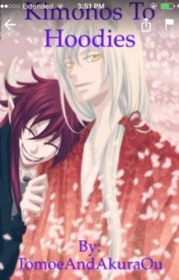 Kimonos to Hoodies (an Akura Ou x Reader X Tomoe