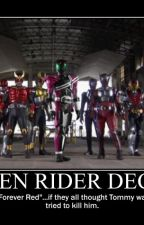 Kamen Rider Decade in ALL THE DIMENSIONS! by NomoreReason