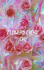 Flowers every day. || Ashton Irwin. by _horrorghoul